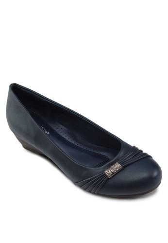 閃飾楔形淑女esprit part time鞋, 女鞋, 鞋