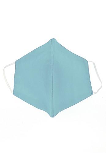 Hamlin multi Vente Masker Earloop Washable Non Medis Waterproof Anti Bakteri Material Cotton ORIGINAL - Light Blue 10A98ES9622960GS_1