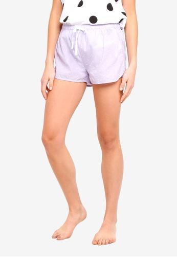 Cotton On Body purple Dobby Sleep Shorts 943C8AA0467193GS_1