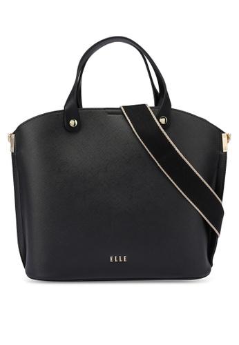 ELLE black Iris Carry Bag 39B0AACCFF6CECGS_1