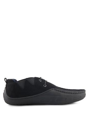 S.Baldo black Rusty Casual Loafers SB324SH05SWWID_1