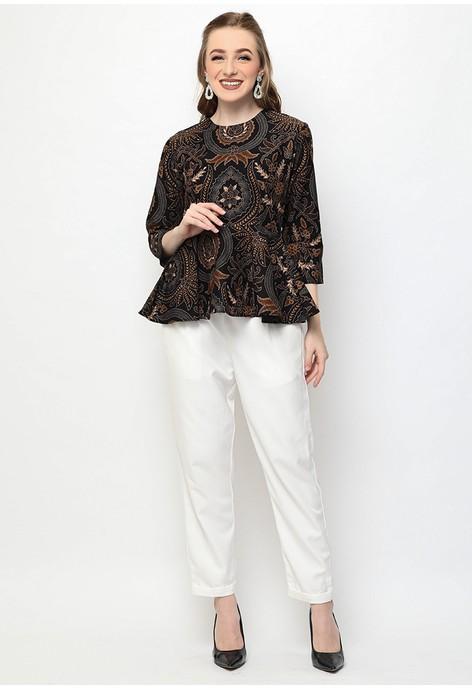 Batik Wanita - Jual Baju Batik Wanita Terbaru  6f01b81657