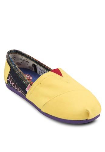 Jesprit門市alieza 民族風針織懶人鞋, 女鞋, 休閒鞋