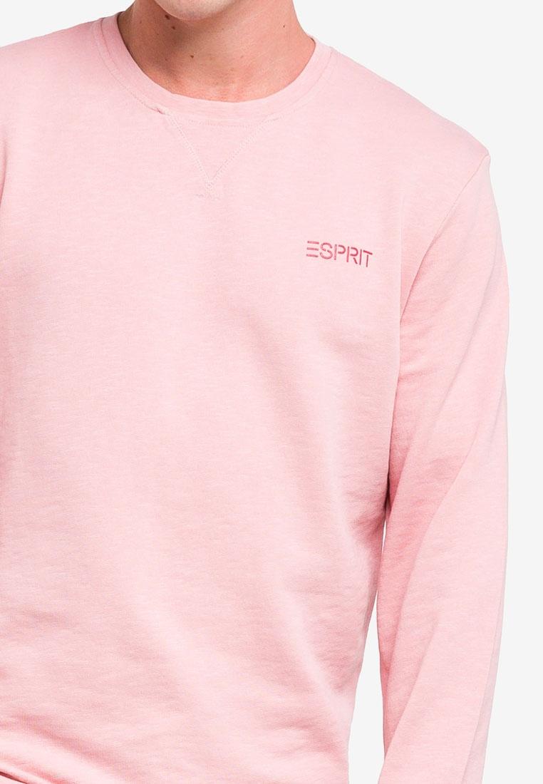 Pink Long Long Sleeve Sweatshirt ESPRIT Long ESPRIT Sleeve Sleeve Sweatshirt Long ESPRIT Pink Pink Sweatshirt Rqf6xT