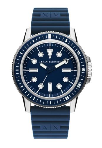 Armani Exchange blue Watch AX1851 C5ACAACE915FCFGS_1