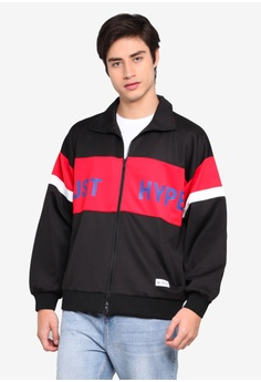 927dabbc8e2 Just Hype black Hype Sport Jacket AE54CAA7E62611GS_1