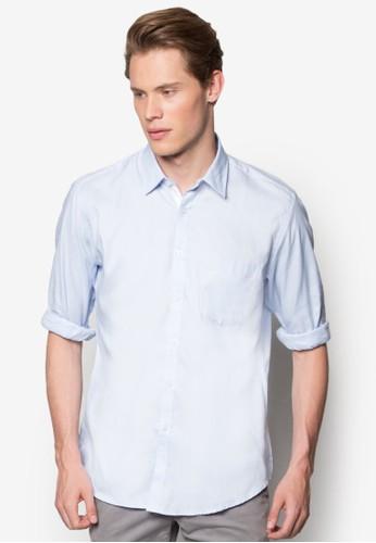 修身長袖襯衫, 服飾zalora時尚購物網的koumi koumi, 襯衫