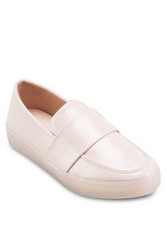 Transparent Outsole Slip On Sneakers