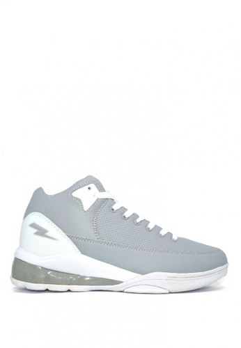 ACCEL grey Bb Gunner Basketball Shoes 137C1SH9B2CD2AGS_1