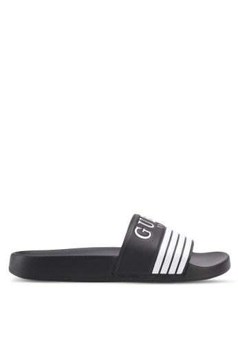 Guess black Sandal Sandals & Flip Flops 62ED2SH3EC37D8GS_1