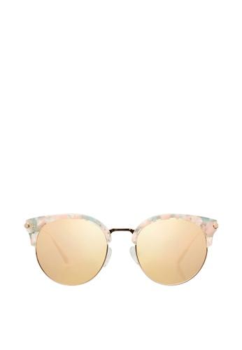 Carin gold Ellen C3 Sunglasses F62E0GL57158BAGS_1