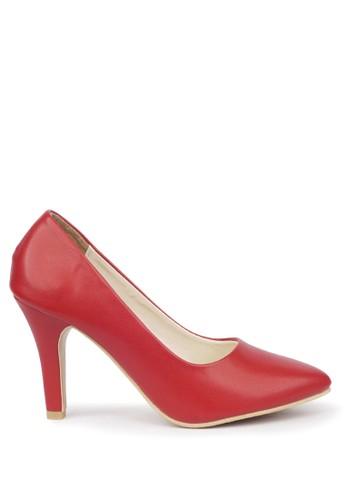 CLAYMORE red Sepatu High Heels BB-701  Red CL635SH33LIOID_1