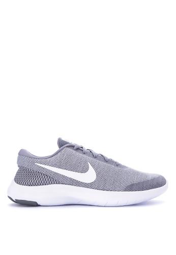 Nike grey and white Women's Nike Flex Experience RN 7 Running Shoes  NI126SH0KPVLPH_1