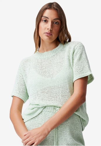 Cotton On Body 綠色 Summer Lounge T-Shirt 18C3CAACC4ACA6GS_1