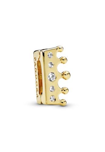 PANDORA gold Pandora Reflexions Crown Clip Charm 4E71DACCDA396AGS_1