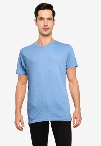 Brave Soul 藍色 圓領T恤 2FD3BAA79B80DDGS_1