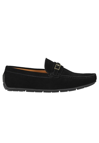 Tomaz black Tomaz C358 Front Buckled Loafers (Black) F1D5DSH327F424GS_1
