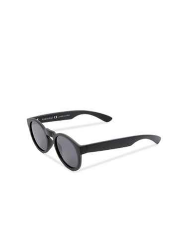 Sensolatino Eyewear Sensolatino眼镜意大利制造Mod。 Bertelli黑色镜框配黑色镜片 A5BEAGL9B8079CGS_1