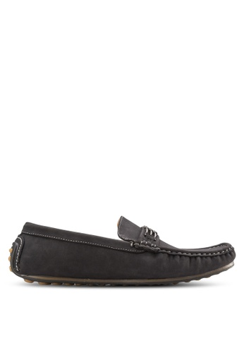Louis Cuppers black Casual Loafers LO977SH08AXZMY_1