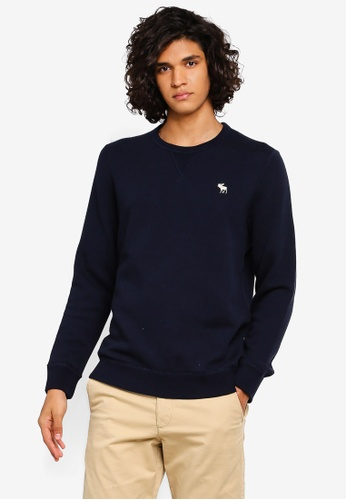 Abercrombie & Fitch 多色 品牌刺繡圓領棉T 64521AAAD22D63GS_1