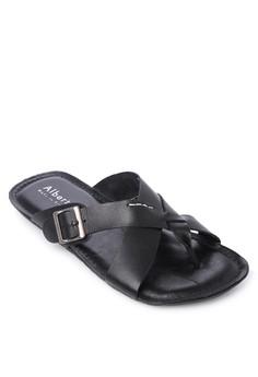 Crisscrossed Flip Flops