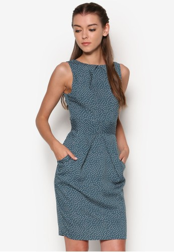 點點esprit品牌介绍褶飾連身裙, 韓系時尚, 梳妝