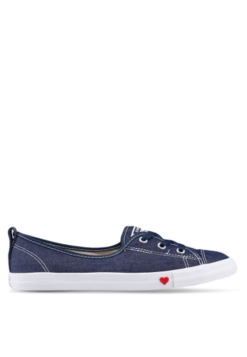 3a6ebfa2b6928d Converse navy Chuck Taylor All Star Ballet Lace Sucker For Love Slip Ons  836A8SHEBE1163GS 1