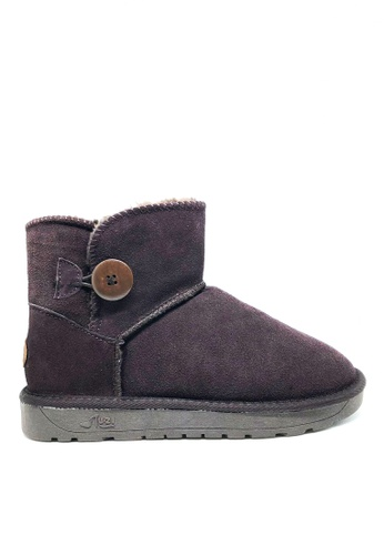 Twenty Eight Shoes Cow Suede Low Classic Button Boots UUD04 B7942SHFCADF4DGS_1
