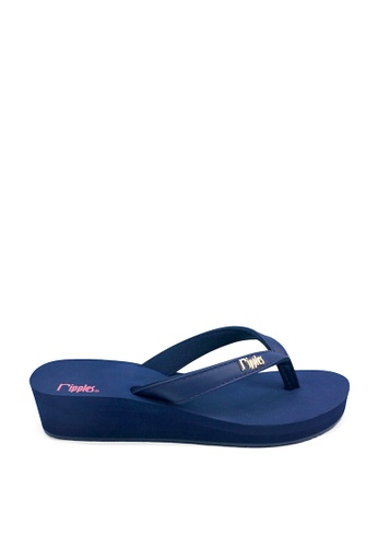 Ripples blue Andre Classic Ladies Wedges RI425SH0FVHJSG_1