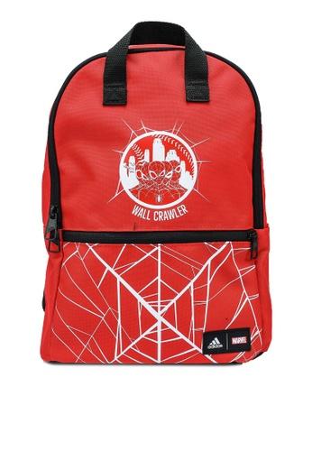 ADIDAS red marvel spiderman backpack F6A33KC25AF831GS_1