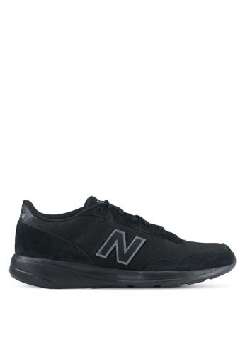 New Balance black 321 Modern Classics Lifestyle Sneakers NE323SH0SS0AMY_1