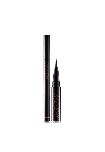 Beauty People brown 365 Stay Waterproof Brush Pen Eyeliner #Appeal Brown BE881BE17MPYSG_1