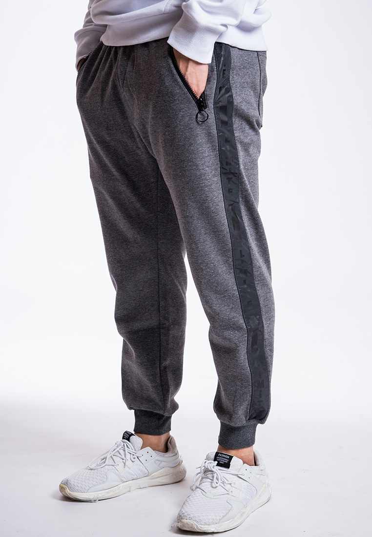 L I T Trim fabric Grey Sweat E 3M with Printed I M Pants 1FxqzYa