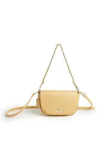 Tracey yellow Tracey Carol Flap Sling Bag F17EEAC52EF48AGS_1