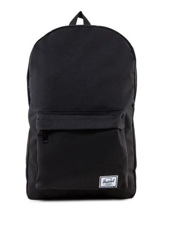 Herschel black Classic Mid-Volume Backpack HE305AC57MUCSG_1
