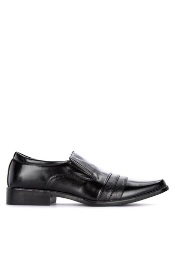H2Ocean black Ferguson Men's Formal Slip-on Shoes 3DD4ESH45D5A95GS_1