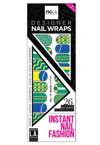 NCLA NCLA Nail Wrap Brazil NC633BE09ZTUSG_1