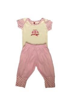 Hudson Baby - Baby Bodysuit & Pant Set