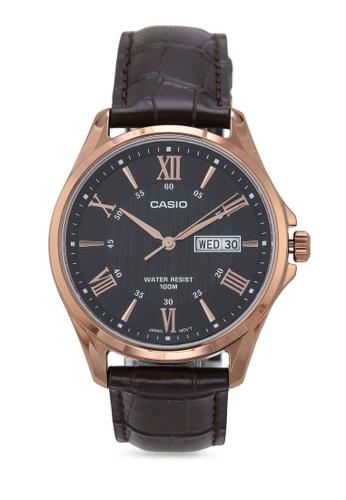 Casio black Casio MTP-1384L-1AVDF Watch F2A57AC088D12FGS_1