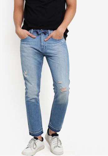 Calvin Klein blue Taper Jeans - Calvin Klein Jeans CA221AA95SEMMY_1