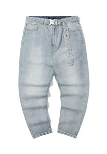 Fivecm blue Safety buck belt jeans 8EFADAAD691968GS_1