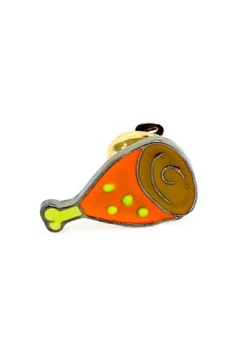 The Little Link Cufflinks orange Glazed Ham Lapel Pin TH089AC0G4XYSG_1