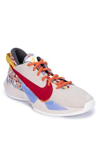 Nike beige Freak 2 (Gs) 1AB31KSC558D42GS_1