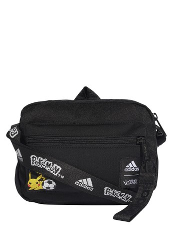 ADIDAS black pokémon organizer crossbody bag A7767AC9824D91GS_1
