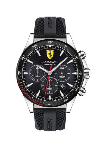 Scuderia Ferrari black Scuderia Ferrari Pilota Black Men's Watch (830620) 226D6AC8CEDE77GS_1