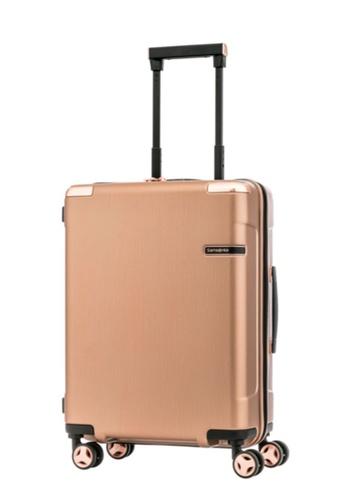 Samsonite gold Samsonite Evoa Spinner 55/20 Luggage F255BACE0AACD3GS_1