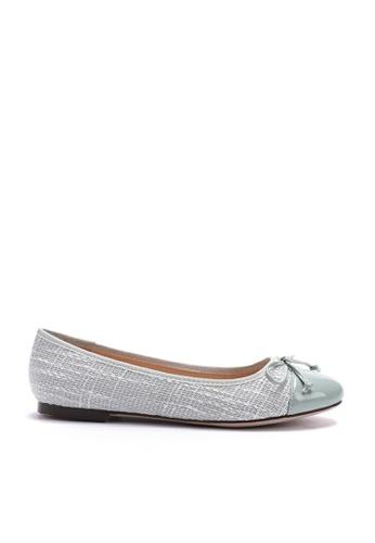 Twenty Eight Shoes green Girly Tweed Ballerina 889-1 C7685SHB4672E6GS_1