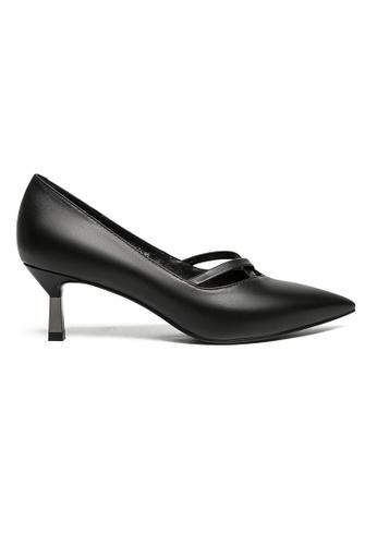 Byford black Ruth Pointed Toe Heels BAE4ASH7149886GS_1