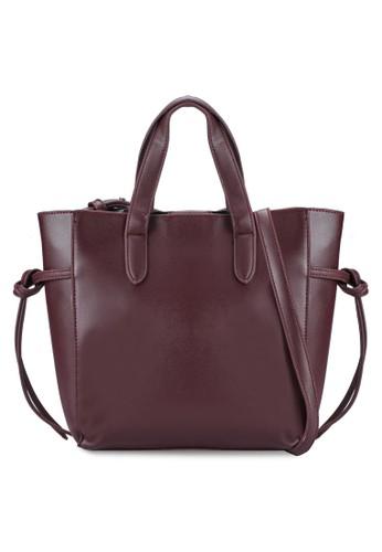 扭結帶手提包、 包、 包SomethingBorrowed扭結帶手提包最新折價