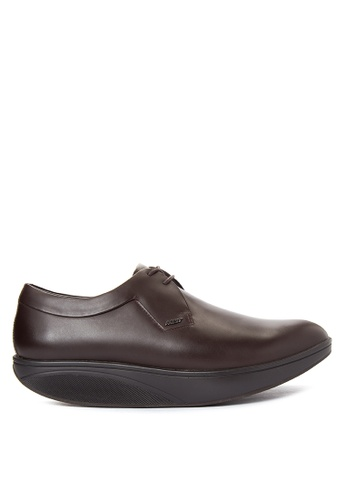 MBT brown Pili Lace Up Formal Shoes Shoes MB619SH32KMXPH_1